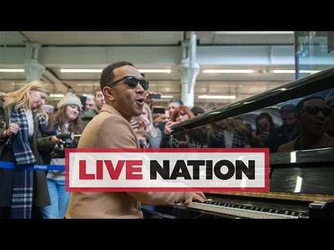 John Legend performs a three-song set at St Pancras International | Live Nation UK