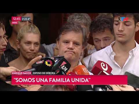 "Enrique Sacco sobre la muerte de Débora Pérez Volpin: ""Queremos saber la verdad"""