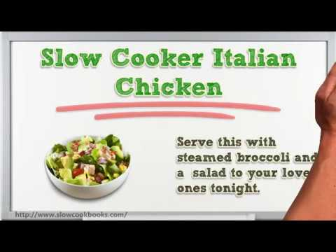 How to Cook Italian Chicken - Easy Slow Cooker Chicken Recipe