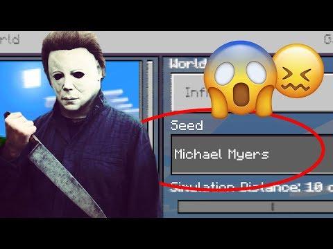 "Minecraft ""MICHAEL MYERS"" World (Scary Halloween Minecraft Seed)"