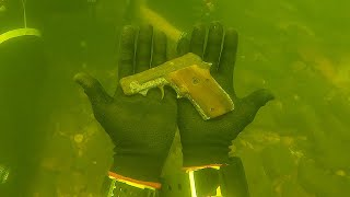 Download Found Gun Underwater in the River While Scuba Diving! (Police Called) Mp3 and Videos