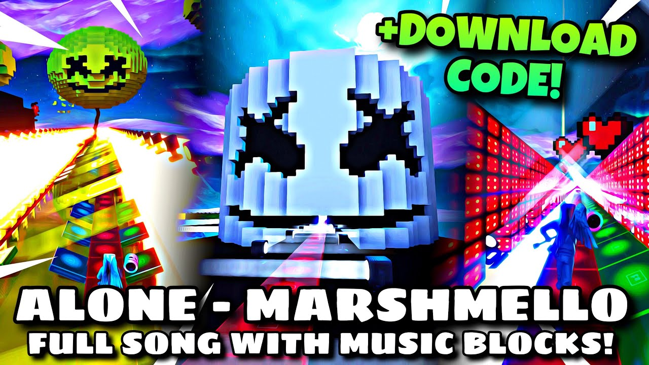 Marshmello Alone Full Song With Fortnite Creative Music Blocks