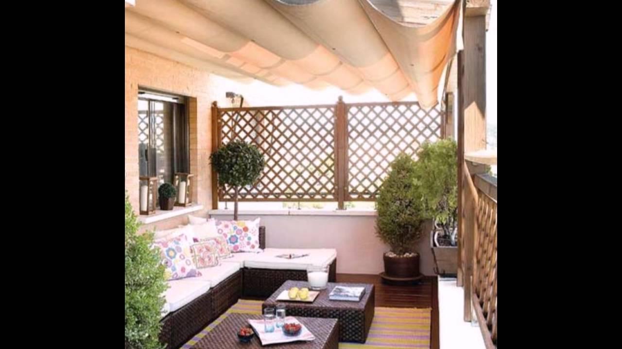 Seitensichtschutz Für Balkon Moderne Möbel