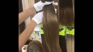 Наращивание волос. Волосы на капсулах 200шт 130гр - 13000