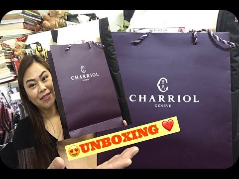 UNBOXING MY 1ST CHARRIOL COLLECTION