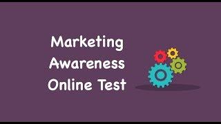 Marketing Awareness Online Test, Marketing Awareness Mock Test