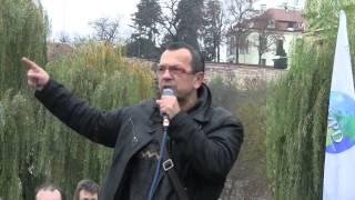Jaroslav Foldyna - 17. listopad 2014 - Praha - Klárov - Stojíme za svým prezidentem