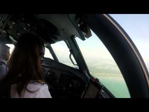 [Cockpit View] InterSky ATR72-600 Low-Passes And Steep-Turns / Sitterdorf (LSZV) Airshow 2015