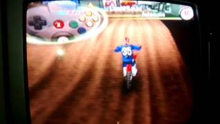 The man reviews ea sports supercross 2000 on N64