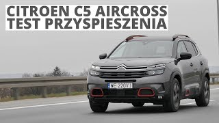 Citroen C5 Aircross 2.0 BlueHDI 178 KM (AT) - acceleration 0-100 km/h