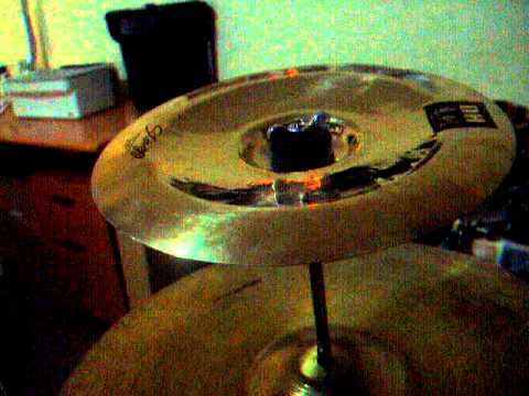 10 cymbal stack paiste pst3 splash stagg dh china youtube. Black Bedroom Furniture Sets. Home Design Ideas