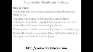 Accumulation Distribution Indicator