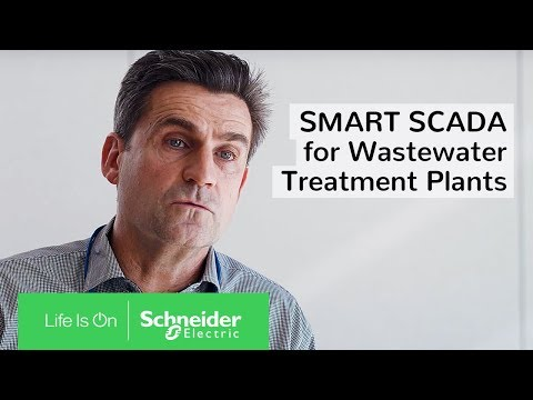 SMART SCADA For Wastewater Treatment Plants In Sydney | Schneider Electric