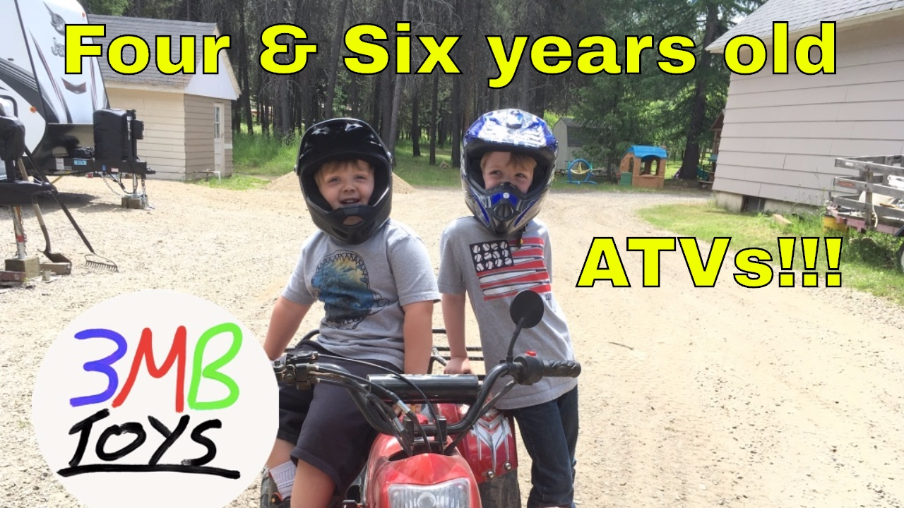 Honda 500 Atv >> Kids Gas powered Four Wheelers ATV dirt trails riding four ...