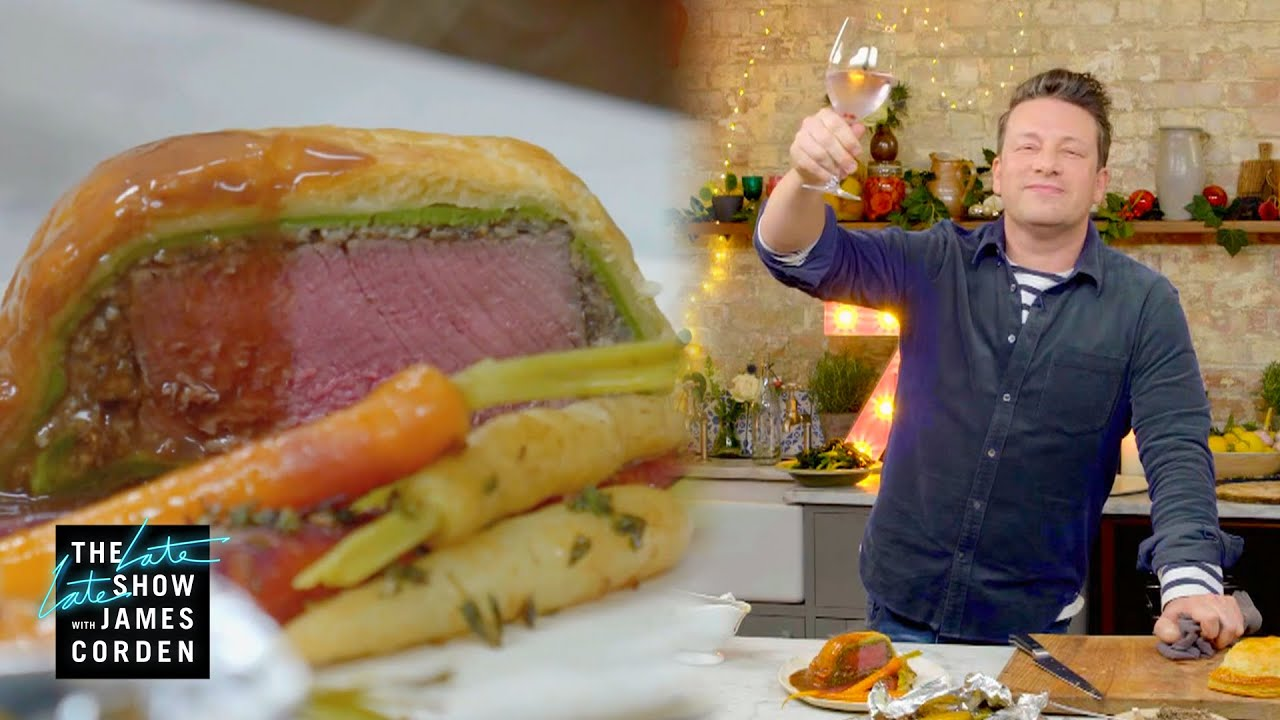 Jamie Oliver Makes an Ace Beef Wellington