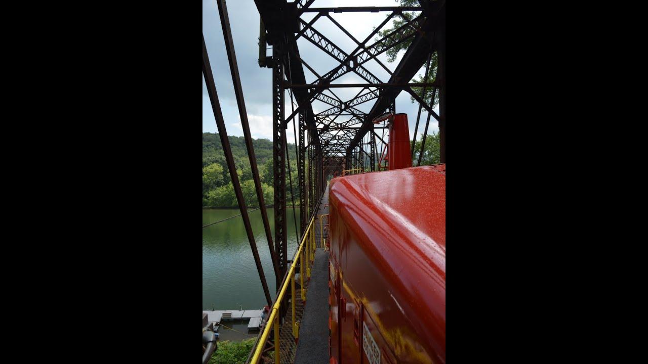 Kiski Junction Railroad Cab Ride Lehigh Valley Sw900m 126 Youtube