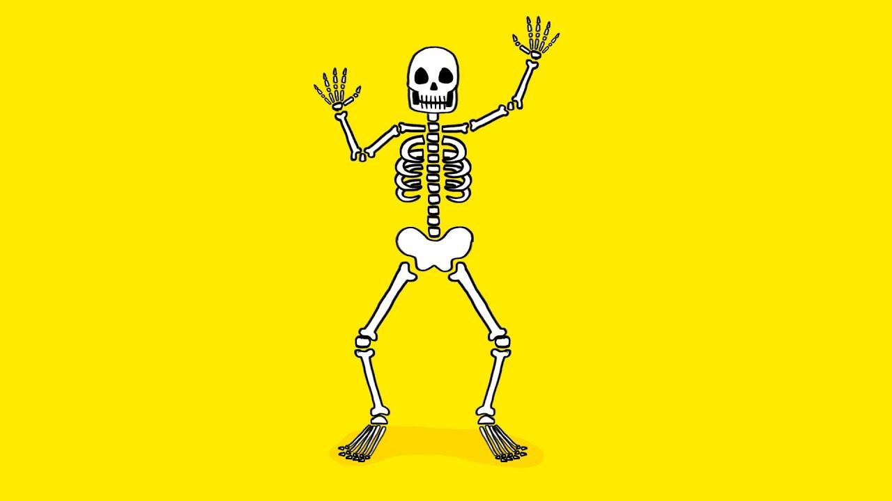 Squelette Dessin Halloween.Comment Dessiner Un Squelette Pour Halloween