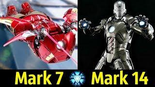 😎 Костюмы Железного Человека (Mark 7 - Mark 14) ! Детальный Разбор (Часть 2) 👍!