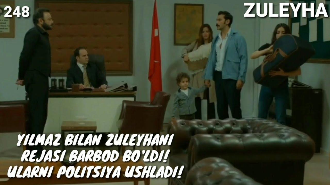 ZULEYHA 248 - QISM O'ZBEK TILIDA(TURK SERIALI) # ЗУЛЕЙХА 248 - КИСМ УЗБЕК ТИЛИДА (ТУРК СЕРИАЛИ)