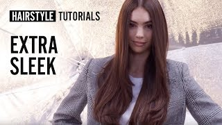 How to style extra sleek? by Bruno Dviana | L'Oréal Professionnel tutorials