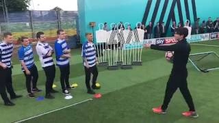 Soccer AM   Fulham vs Reading! LIVE VOLLEY CHALLENGE