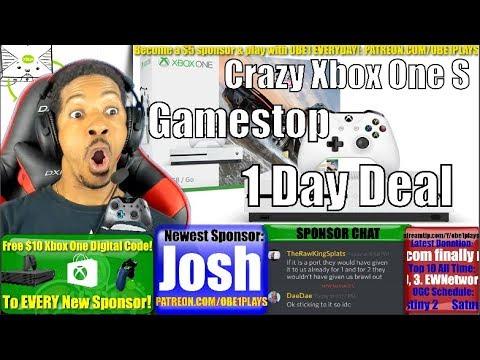 Gamestop Having Crazy Xbox One S Deal Tomorrow!