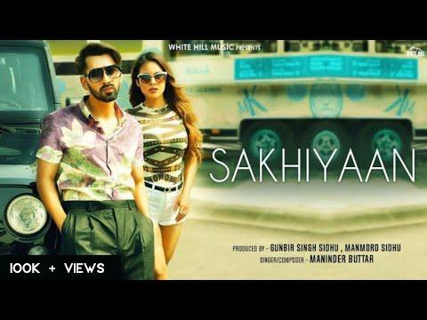 Sakhiyaan Acoustic Edit  Maninder Buttar , Neha Malik  Ravi Romana  New Punjabi Songs