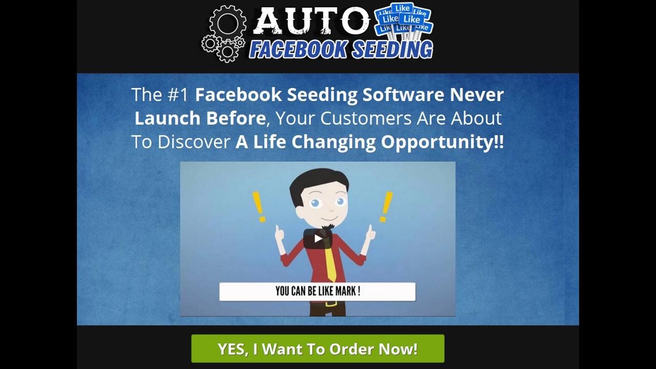 auto facebook seeding