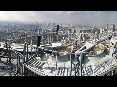 270 m TOKYO CITY VIEW Sky Deck HELIPAD Mori Tower ROPPONGI Japan