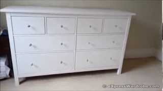 Ikea Chest Of Drawers With Crystal Glass Knobs
