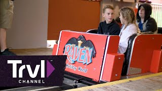The Raven Roller Coaster at Holiday World - Travel Channel