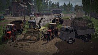 Let's Play Farming Simulator 2015 #47 Kiszonkowe opowieści o poznaniu Bronczka