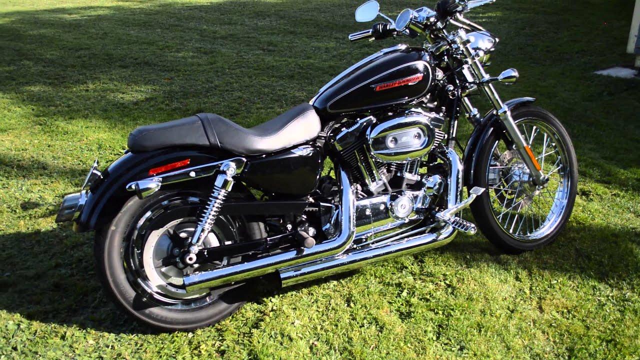2008 Harley Davidson Sportster 1200 Custom  YouTube