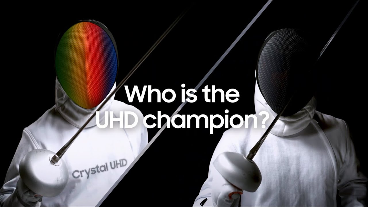 Who is the UHD champion?   Samsung