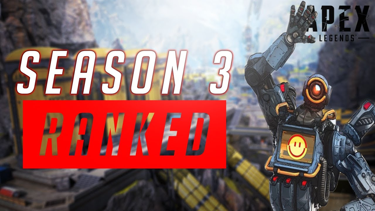 Playing Ranked in Season 3! - PS4 Apex Legends Gameplay