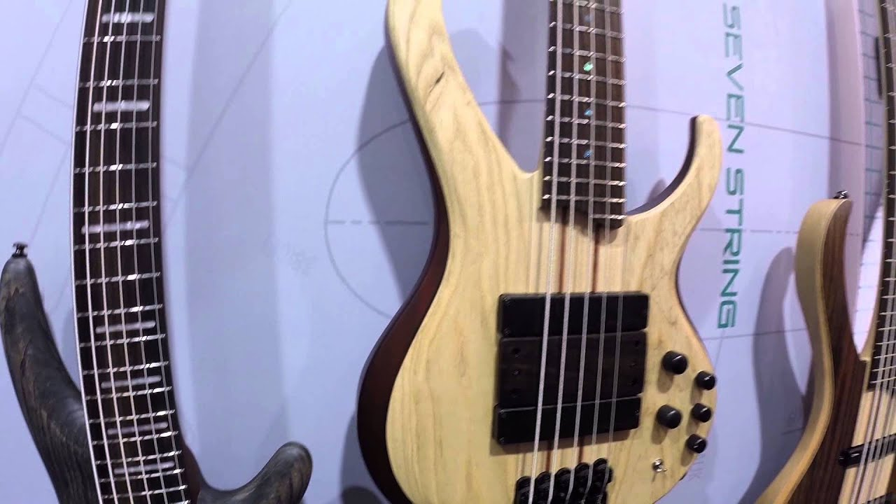 namm 2015 ibanez btb33 volo short scale 5 string gear gods