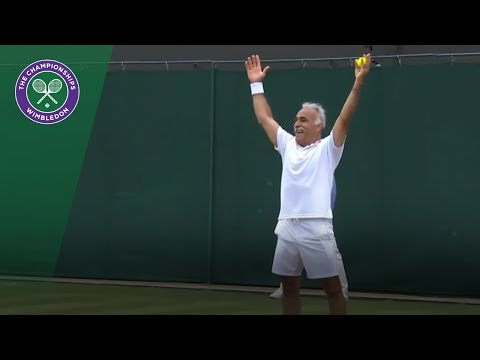 Mansour Bahrami - the master entertainer | Wimbledon 2018
