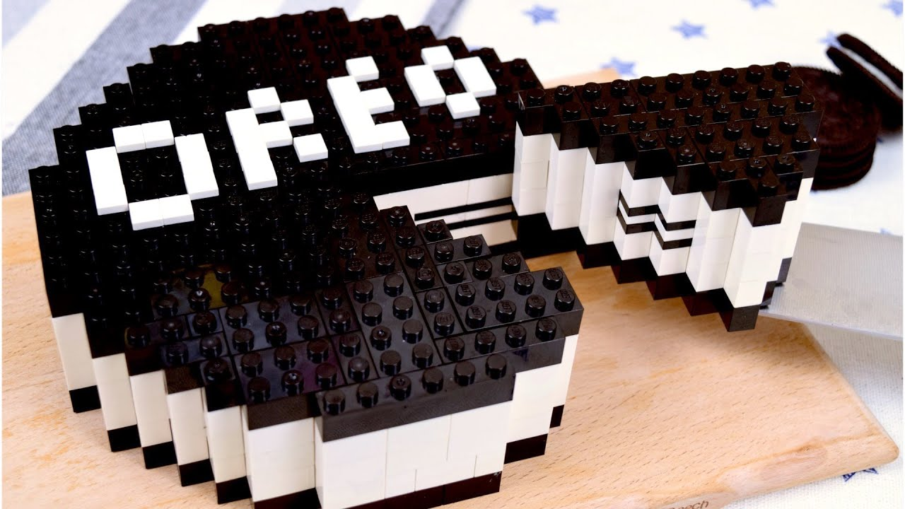 Download Lego Oreo Cheesecake - Lego In Real Life 3 / Stop Motion Cooking & ASMR