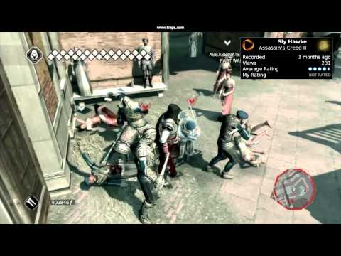 Group Assassination (Assassin's Creed II)
