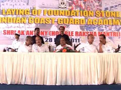Indian Coast Guard Academy at Kannur