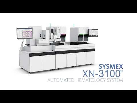 Sysmex XN-3100™ Automated Hematology Analyzer Overview - YouTube