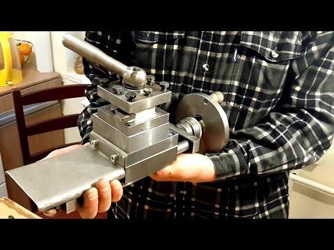 видео: Мини токарный станок своими руками. Поперечный суппорт
