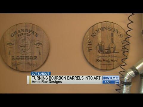 Bourbon barrel art pt.2