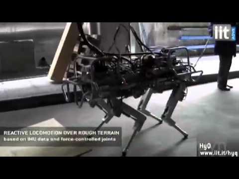 Tecnologia: a Genova creato un robot a 4 zampe in grado di attraversare i fiumi