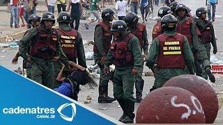 Suman 31 muertos protestas en Venezuela / Crisis en Venezuela
