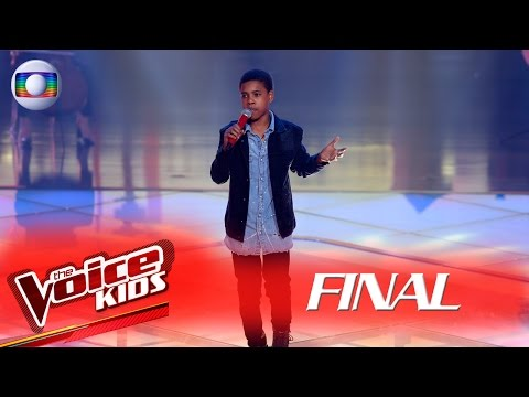 Juan Carlos Poca canta 'Sinônimos' no The Voice Kids Brasil - Final