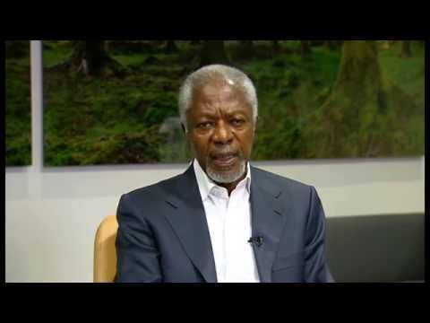 "Kofi Annan ""bitterly disappointed"" with global response to Ebola - Newsnight"