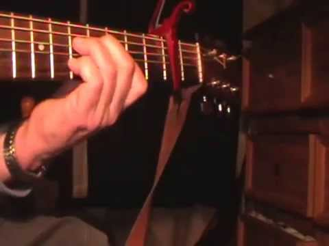 The Lord is my shepherd  - how to play keith green song fingerstyle guitar