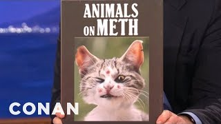 Coffee Table Books That Didn't Sell 6/27/12 - Conan On Tbs