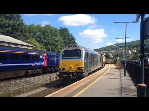 Convoys, Stock Moves And A Charter! - Bath Spa - 6th August 2016